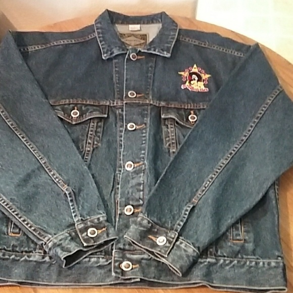 c92b7a2eb Haleman Other | Men Denim Jean Jacket Sz L Arizona Charlie | Poshmark